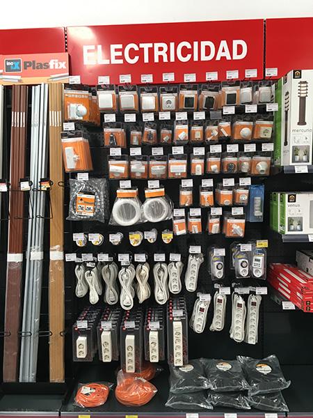 Accesorios de electricidad