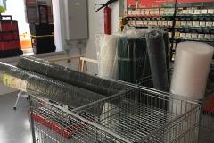 Mallas plásticas y metálicas
